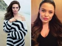 Двойник Анджелины Джоли набирает популярность в Интернете (ФОТО)