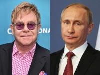Владимир Путин пока не готов обсуждать тему геев с Элтоном Джоном