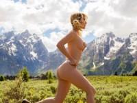 Красоты Сары Андервуд на фоне красот североамериканской природы (34 ФОТО)