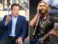 Шварценеггер неудачно пошутил про Nickelback