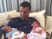 Роналду оставил футбольную команду из-за рождения детей (ФОТО)