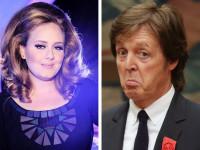 Адель и Маккартни - самые богатые музыканты Великобритании