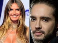 44-летняя Хайди Клум закрутила роман с 28-летним гитаристом Tokio Hotel Томом Каулитцом