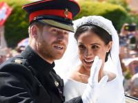 Принц Гарри и Меган Маркл поженились (ФОТО)