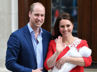 Принц Уильям и Кейт Миддлтон объявили имя сына