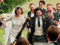 Кит Харингтон и Роуз Лесли поженились (ФОТО)