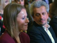 Ксения Собчак и Константин Богомолов не скрывают чувств (ВИДЕО)