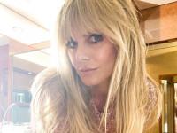 47-летняя Хайди Клум снялась полностью голой в день рождения 31-летнего мужа