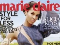 Алиша Кис в июльском номере Marie Claire UK (7 ФОТО)
