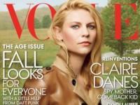 Клэр Дейнс в фотосессии для Vogue (6 ФОТО)