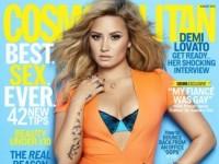 Деми Ловато в августовском Cosmopolitan (5 ФОТО)