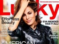 Ева Мендес украсила страницы октябрьского выпуска Lucky (5 ФОТО)