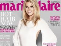 Утонченная Гвинет Пэлтроу в австралийском Marie Claire (4 ФОТО)