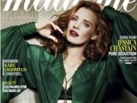 Джессика Честейн в июньском номере Madame Figaro (8 ФОТО)
