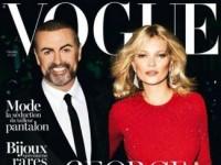 Джордж Майкл и Кейт Мосс на обложке французского Vogue (11 ФОТО и ВИДЕО)