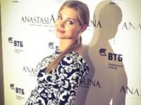 Беременная Кристина Асмус стала участницей модного показа