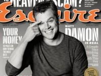 Мэтт Дэймон стал героем августовского Esquire (5 ФОТО)