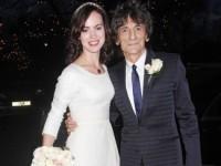 65-летний гитарист Rolling Stones женился