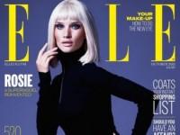 Роузи Хантингтон-Уайтли на страницах британского Elle (13 ФОТО)