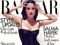 Сальма Хайек украсила собой ноябрьский номер Harper's Bazaar (4 ФОТО)