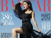 Ванесса Хадженс в декабрьском Harper's Bazaar Arabia (5 ФОТО)