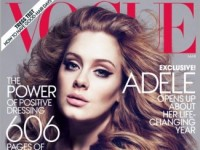 Триумфатор «Грэмми» певица Адель украсит обложку мартовского «Vogue» (10 ФОТО)