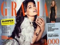 Прекрасная Фрида Пинто в индийском выпуске журнала Grazia (6 ФОТО)