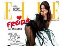 Фрида Пинто в индийском Elle (3 ФОТО)