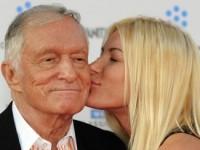 Основатель Playboy Хью Хефнер женился на 26-летней модели (ФОТО)