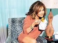Дженнифер Лопес в жизнерадостной фотосессии для Glamour (9 ФОТО)
