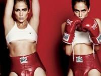 Дженнифер Лопес предстала в образе полуобнаженного боксёра (7 ФОТО)