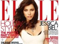 Джессика Биль в декабрьском Elle (7 ФОТО)