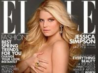 Беременная Джессика Симпсон обнажилась для журнала «Elle» (4 ФОТО)
