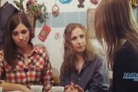 Ксения Собчак общалась с освобожденными участницами Pussy Riot