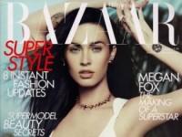 Меган Фокс в журнале Harpers Bazaar (3 ФОТО)