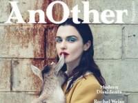 Удивительная фотосессия Рэйчел Вайс в журнале AnOther (14 ФОТО)