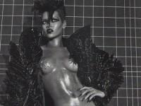 Полуобнаженная Рианна в итальянском Vogue (5 ФОТО)