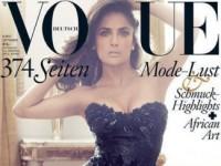 Сальма Хайек на страницах сентябрьского «Vogue» (10 ФОТО)