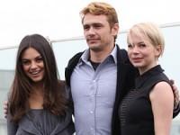 Мила Кунис, Мишель Уильямс и Джеймс Франко привезли в Россию картину «Оз: Великий и Ужасный»