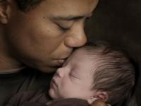 Тайгер Вудс показал новорожденного сына (5 ФОТО)