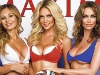Полуобнаженные жены футболистов украсили обложку журнала (ФОТО)