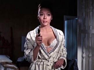 Дайна Ригг, кадр из фильма «На секретной службе Ее Величества»