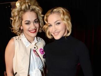 Рита Ора и Мадонна