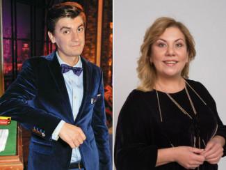 Александр Гудков и Марина Федункив