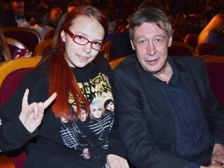 Анна-Мария Ефремова и Михаил Ефремов