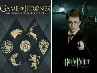«Игра Престолов» и «Гарри Поттер»