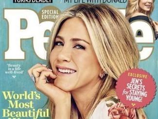 Дженнифер Энистон на обложке журнала People
