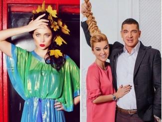 Настасья Самбурская и Ксения Бородина с мужем Курбаном Омаровым
