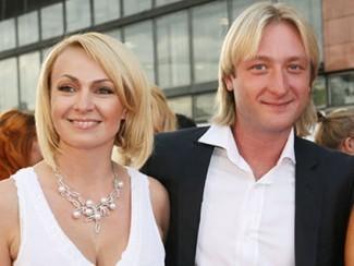 Яна Рудковская и Евгений Плющенко