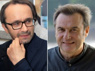 Андрей Звягинцев и Алексей Учитель
